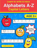 Learn to Write and Trace Alphabets A Z