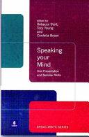 Speaking Your Mind