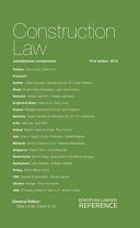 Construction Law and Practice