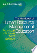 The Handbook of Human Resource Management Education