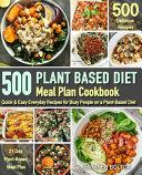Plant Based Meal Plan Cookbook