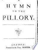 A Hymn to the Pillory