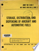 Storage Distribution, and Dispensing of Aircraft and Automotive Fuels