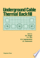 Underground Cable Thermal Backfill