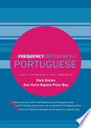 A Frequency Dictionary of Portuguese