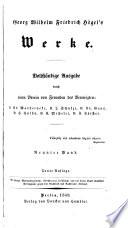 Bd. Vorlesungen über die Philosophie der Geschichte. Hrsg. von Eduard Gans