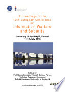 Proceedings of the 12th European Conference on Information Warfare and Security