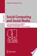 Social Computing and Social Media