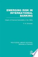 Emerging Risk in International Banking  RLE Banking   Finance