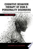 Cognitive Behavior Therapy of DSM 5 Personality Disorders