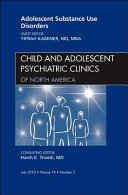 Adolescent Substance Use Disorders