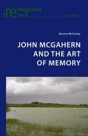 John McGahern and the Art of Memory