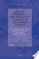 illustration du livre Ritual Dynamics and Religious Change in the Roman Empire