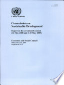 Commission on Sustainable Development: Report on the Seventeenth Session (16 May 2008 and 4-15 May 2009)