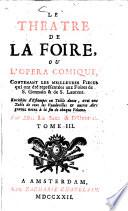 Le Th    tre De La Foire  Ou L Opera Comique