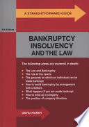 Bankruptcy Insolvency and the Law