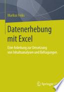 Datenerhebung mit Excel