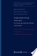 50 Jahre Elysée-Vertrag (1963-2013) / Les 50 ans du traité de l'Elysée (1963-2013)