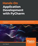 Hands On Application Development With Pycharm