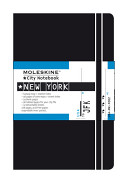 Moleskine City Notebook - New York, Pocket, Black, Hard Cover (3.5 x 5.5)