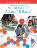 Problem Solving Cases In Microsoft Access   Excel