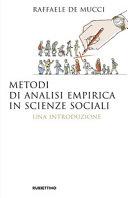 Metodi di analisi empirica in scienze sociali. Una introduzione