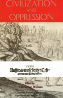 Civilization and Oppression