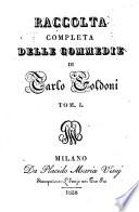 Raccolta completa delle commedie di Carlo Goldoni  Tomo 1   40