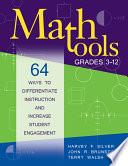Math Tools, Grades 3-12 Pdf/ePub eBook