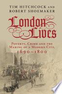 Ebook London Lives Epub Tim Hitchcock,Robert Shoemaker Apps Read Mobile
