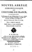 Abrégé chronologique de l'histoire du Comté de neuchatel et Valengin