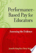 Performance Based Pay for Educators