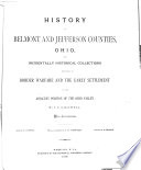 History Of Belmont And Jefferson Counties Ohio