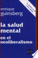 La salud mental en el neoliberalismo