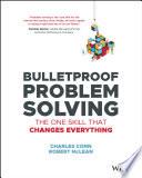 Bulletproof Problem Solving Book PDF