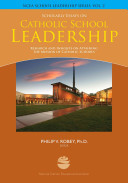 Scholarly Essays On Catholic School Leadership book