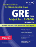 GRE subject test: Biology