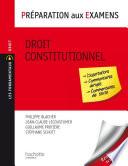 Droit Constitutionnel Pr Paration Aux Examens