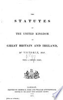 The Statutes at Large from the Magna Charta, to the End of the Eleventh Parliament of Great Britain, Anno 1761 [continued to 1806]. By Danby Pickering