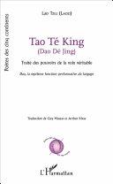 Tao Te King Dao D Jing