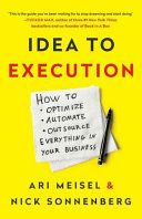 IDEA TO EXECUTION Book PDF