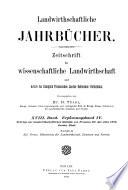 Landwirtschaftliche Jahrbücher