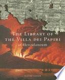 Ebook The Library of the Villa Dei Papiri at Herculaneum Epub David Sider Apps Read Mobile