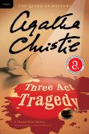 download ebook three act tragedy pdf epub