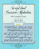 Script and Cursive Alphabets