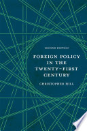 Foreign Policy In The Twenty First Century