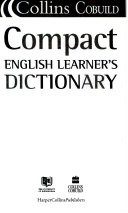 COLLINS COBUILD COMPACT ENGLISH LEARNER'S DICTIONARY