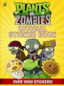 Plants Vs  Zombies Official Sticker Book