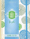 NIV Holy Bible for Girls  Journal Edition  Hardcover  Mint  Elastic Closure