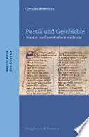 Poetik und Geschichte